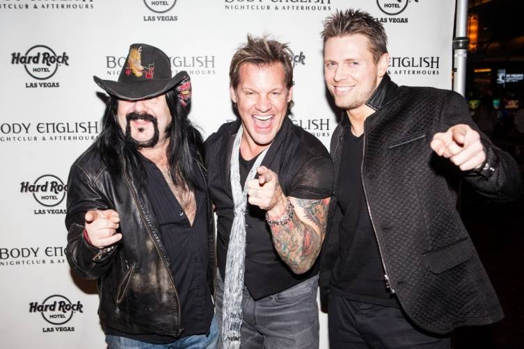 01.17_Vinnie Paul, Chris Jericho and The Miz_Photo credit Chase Stevens
