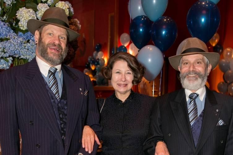 David Laudon, Joni Kaufman and Randy Laroche