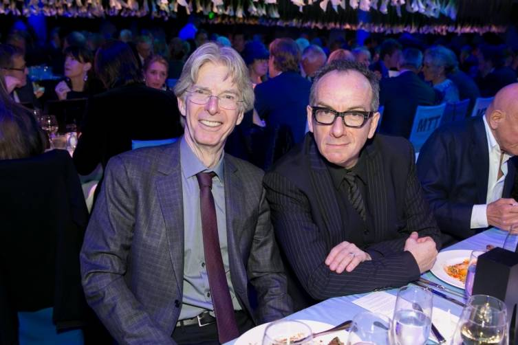 Phil Lesh and Elvis Costello