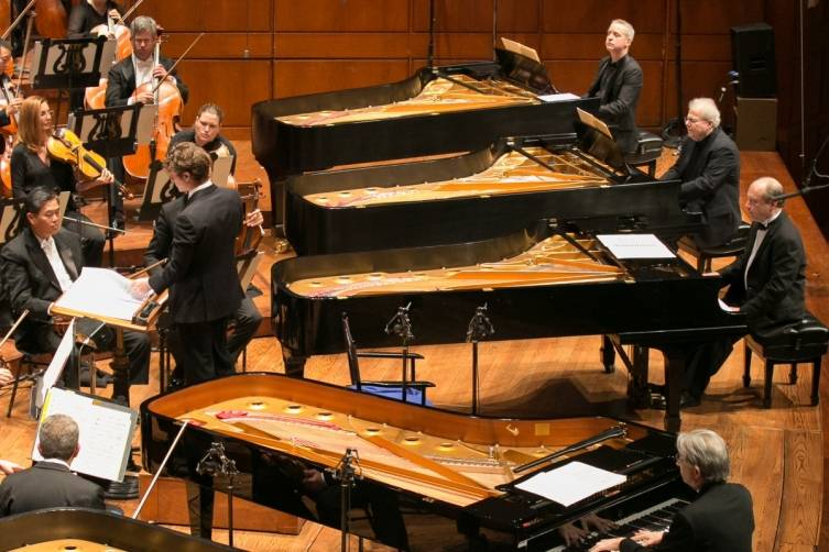 Franz List conductor, JeanYves Thibaudet, Yuja Wang, Michael Tilson Thomas, MarcAndré Hamelin, Emanuel Ax and Jeremy Denk