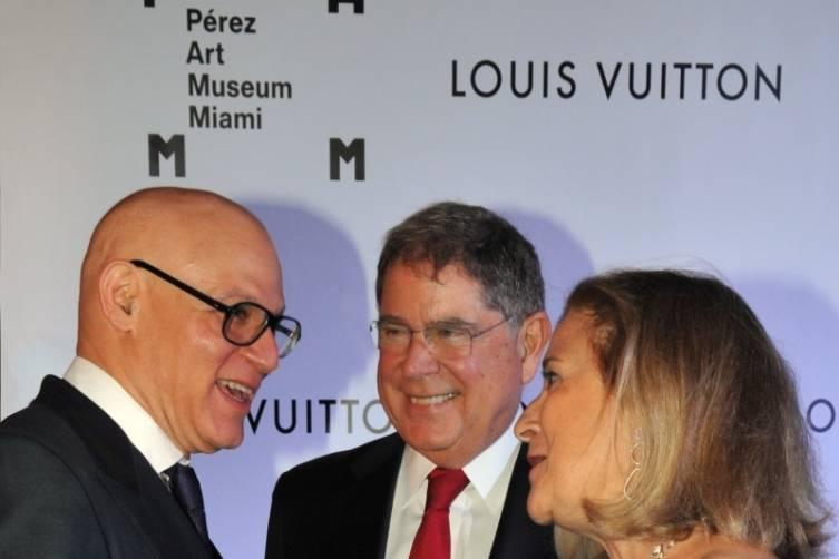 Craig Robins, Alberto Ibargüen and Susana Ibargüen - Juan E. Cabrera
