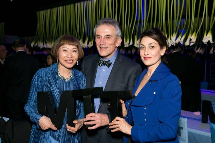 Amy Tan, Lou DeMattei and Niloufar Talebi