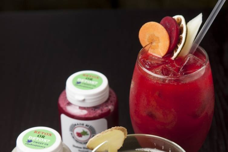 Superfood cocktails will see you both smug and merry