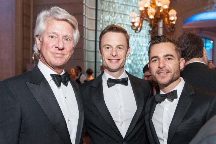 Jeffrey Hayes, Christopher Wheeldon and Ross Rayburn