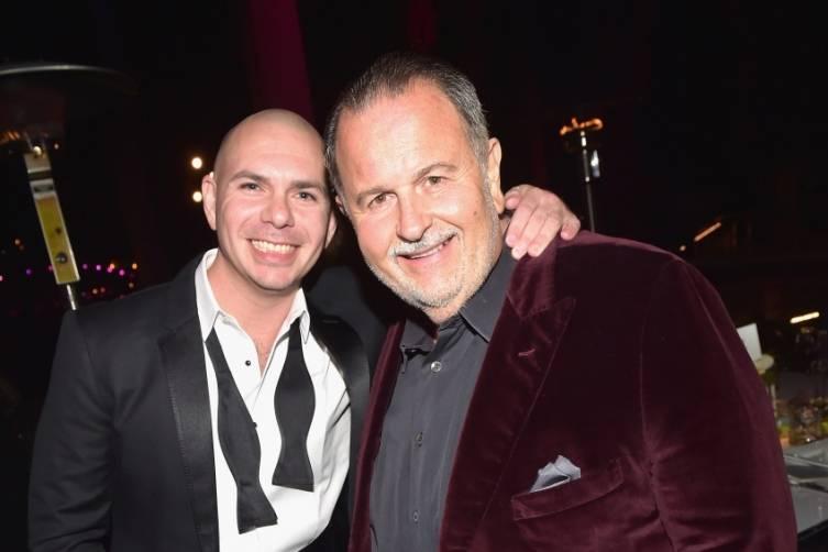 Pitbull with Raul De Molina - Getty
