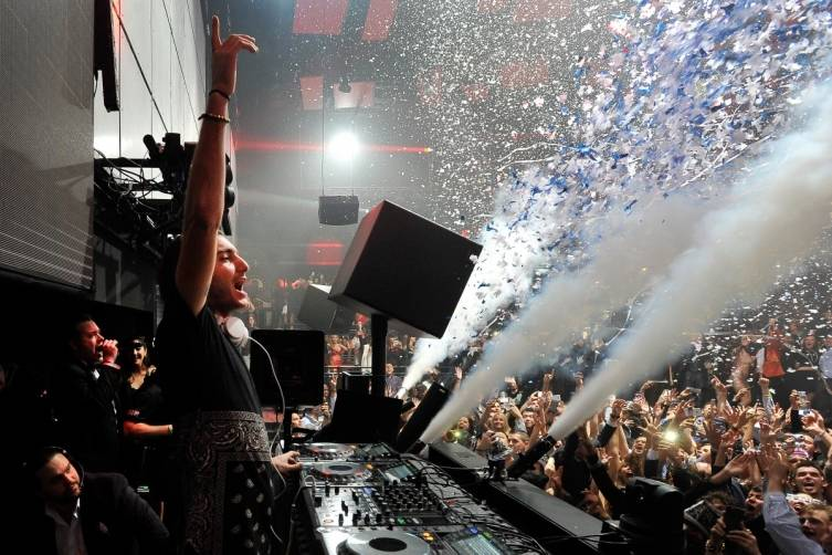 Alesso at Light Nightclub. Photos: David Becker