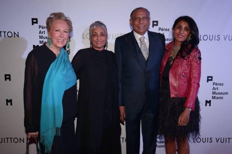 Iran Issa Khan, Padma Vattikuti, Raj Vattikuti, & Tanvi Vattikuti Abbhi - World Red Eye