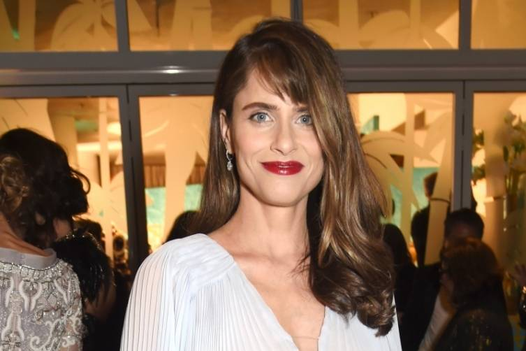 Amanda Peet at HBO's post-Golden Globes party
