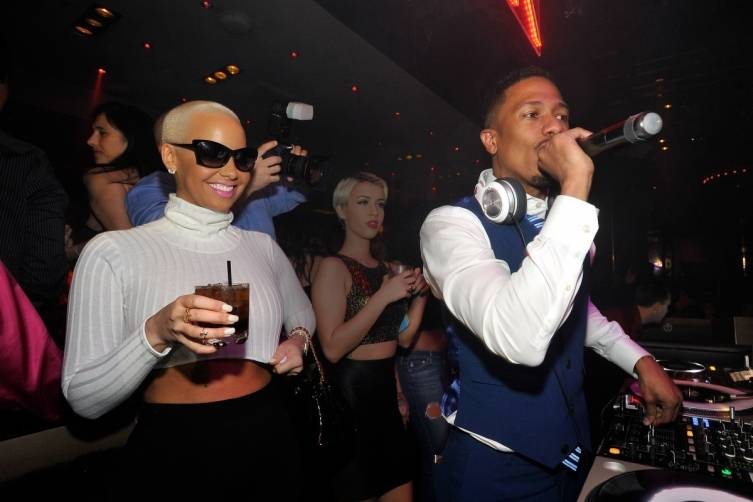 Amber Rose, Nick Cannon 1 OAK LV 2
