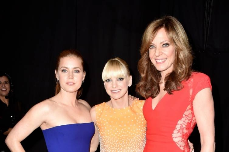 Amy Adams, Anna Faris and Allison Janney