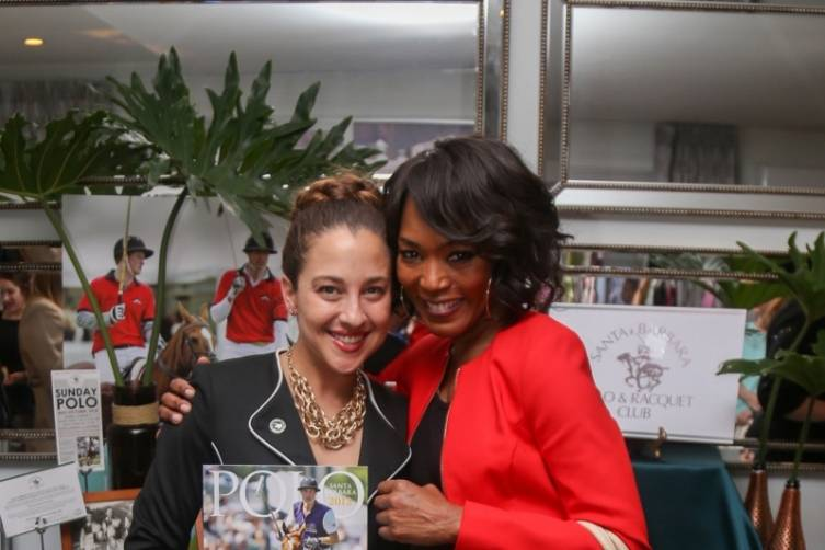 Angela Bassett at the DPA Gifting Suite