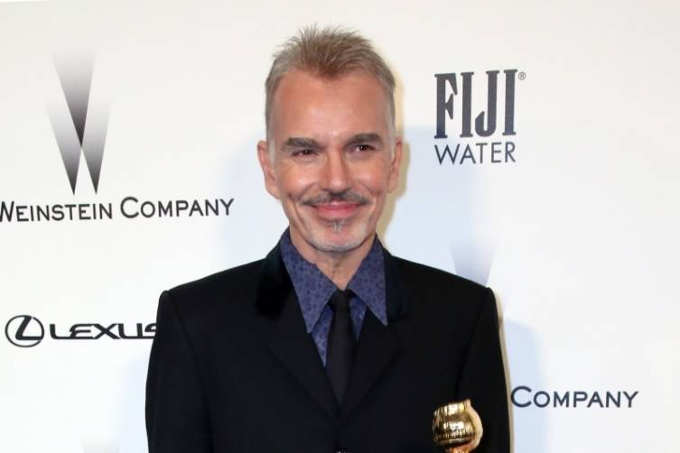 Billy Bob Thornton at TWC/Netflix post-Golden Globes party