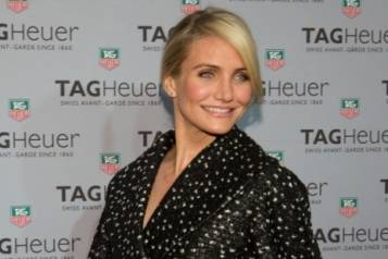Cameron Diaz, Rob Lourd:Getty Images for Tag Heuer