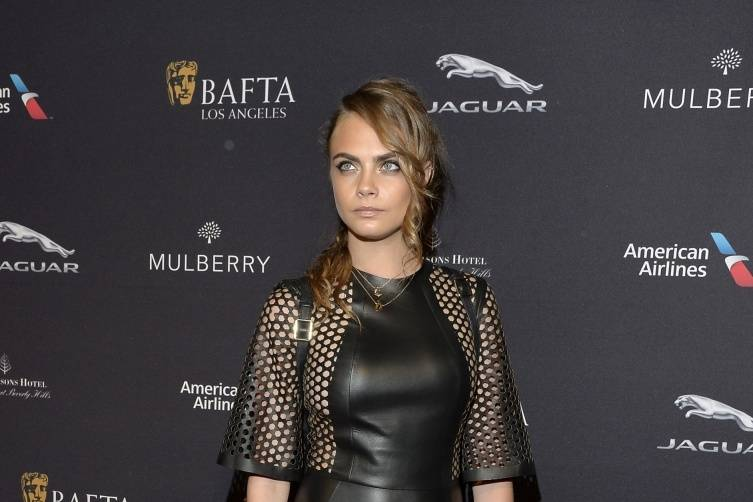 Cara Delevingne at the BAFTA Tea Party