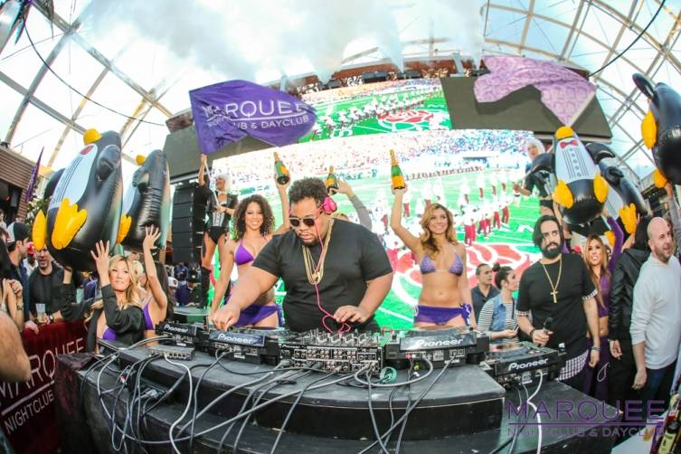DJ Carnage at the Marquee Dayclub Dome. Photos: Tony Tran