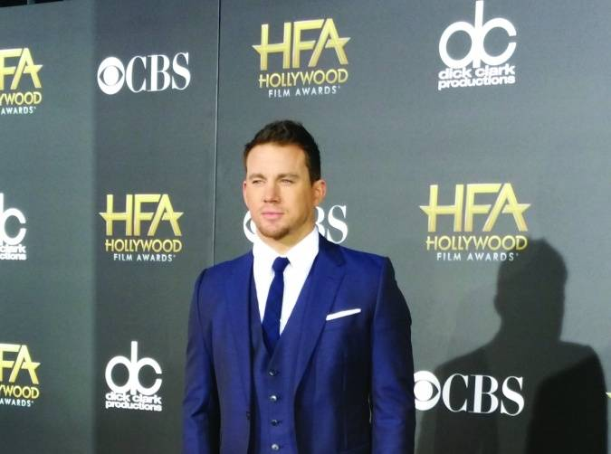 Channing Tatum, photo Carlos Reyes