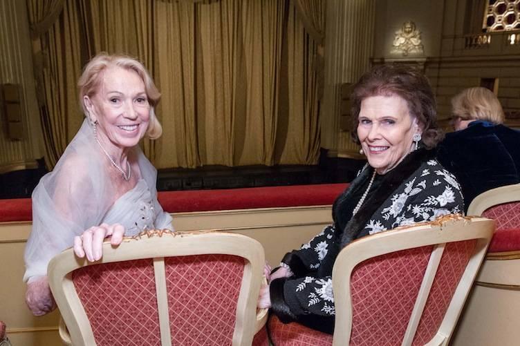 Charlotte Shultz and Lucy Jewett