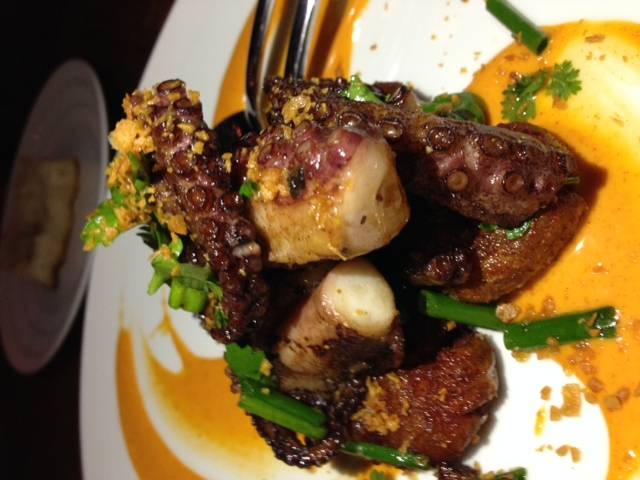Charred Florida Octopus