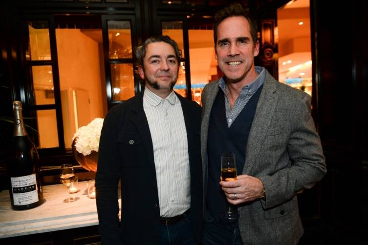 Chefs Matthias Merges and Shawn McClain at BARDOT Opening 1.15.15