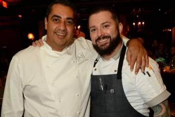Chefs Michael Mina and Josh Smith at BARDOT Opening 1.15.15