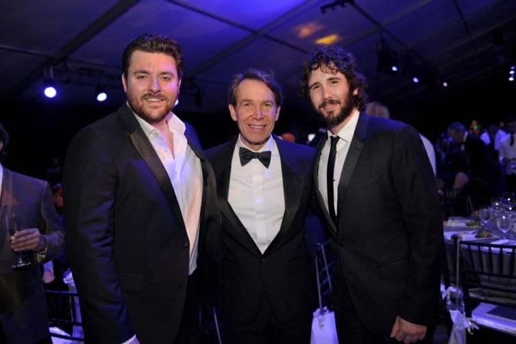 Chris Young, Jeff Koons, & Josh Groban_Credit WorldRedEye