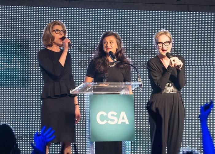Christine Baranski, Tracy Ullman and Meryl Streep