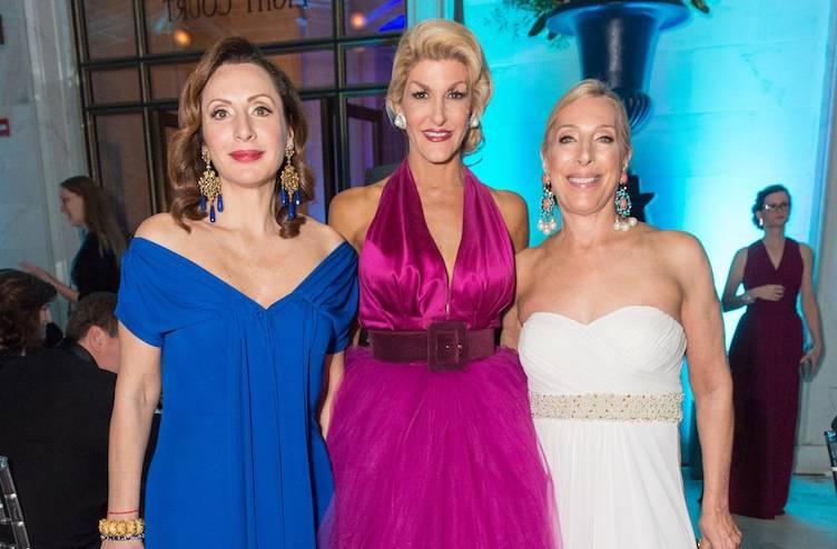 Clara Shayevich, Karen Caldwell and Betsy Linder