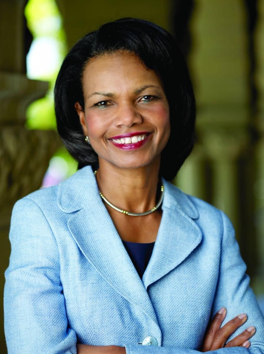 Condoleezza Rice, credit Steve Gladfelter