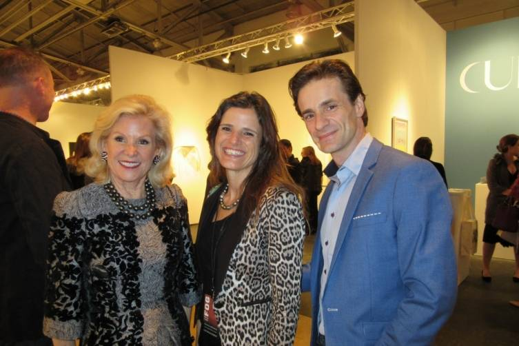 Dede Wilsey, Genevieve Molat and Pascal Molat