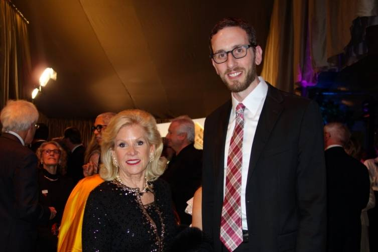 Dede Wilsey and Scott Wiener