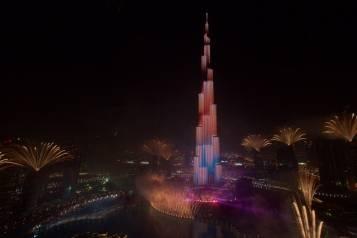 Downtown Dubai New Year's Eve Gala 2015