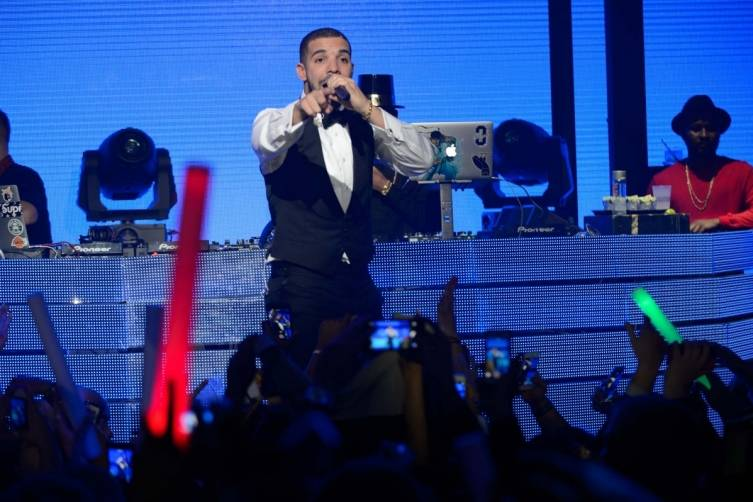 Drake at Marquee Nightclub & Dayclub at The Cosmopolitan of Las Vegas. Photos: Al Powers/Powers Imagery