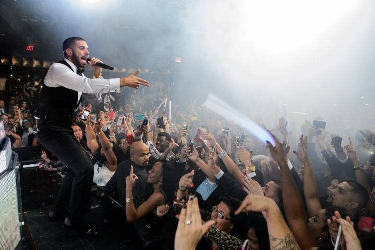 Drake at Marquee Nightclub & Dayclub at The Cosmopolitan of Las Vegas_NYE_Powers_3