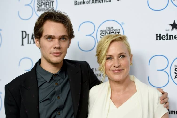 Ellar Coltrane and Patricia Arquette attend the  Film Independent Spirit Awards Filmmaker Grant and Nominee Brunch