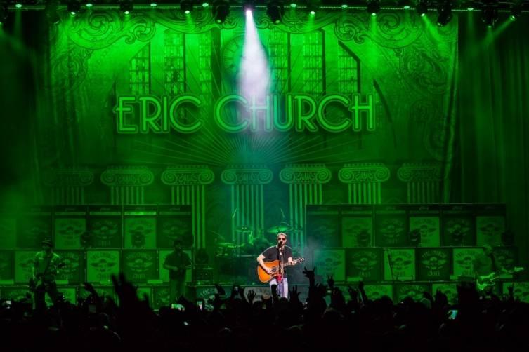 Eric Church performs at The Chelsea inside The Cosmopolitan_Jan 16_Kabik_1