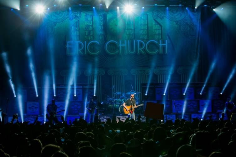 Eric Church performs at The Chelsea inside The Cosmopolitan_Jan 16_Kabik_2