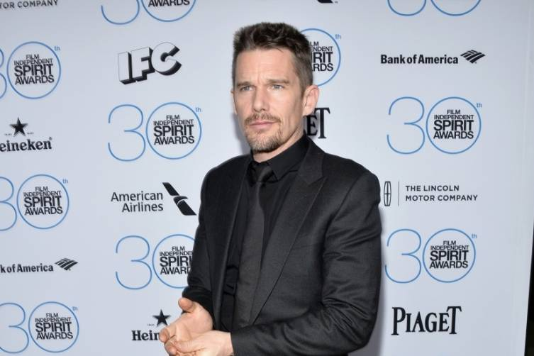 Ethan Hawke attends the  Film Independent Spirit Awards Filmmaker Grant and Nominee Brunch