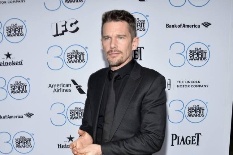 Ethan Hawke attends the  Film Independent Spirit Awards Filmmaker Grant and Nominee Brunch