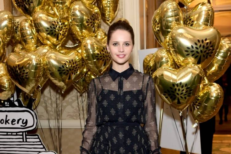 Felicity Jones at the BAFTA Tea Party