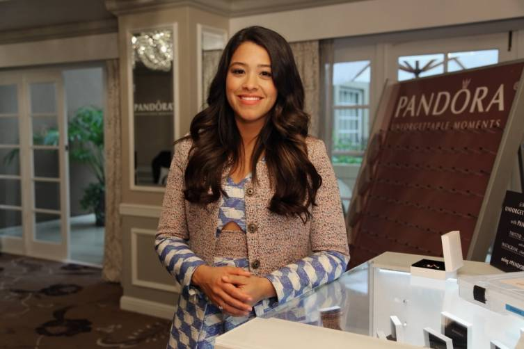 Gina Rodriguez at HBO Luxury Lounge
