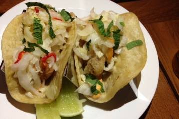 Griddled Red Snapper Tacos from Matador Room