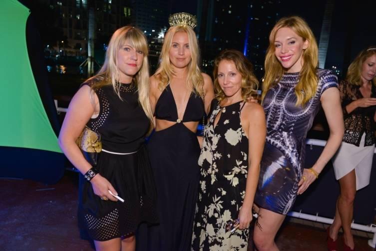 Guests at Sean Wolfington NYE party at Cipriani 5