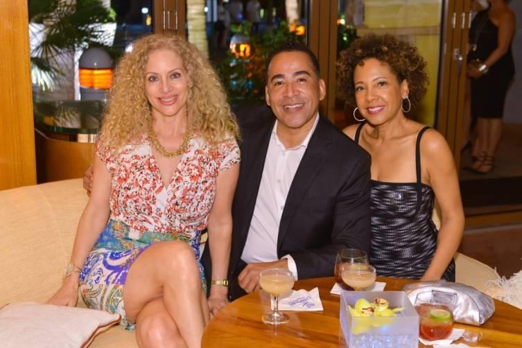Guests at Sean Wolfington NYE party at Cipriani 9
