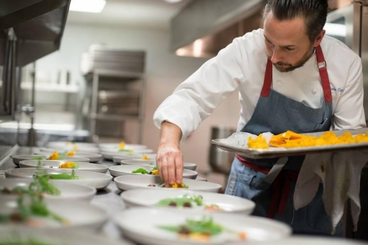 Fisher Island Club's Executive Chef Stephane Caporal