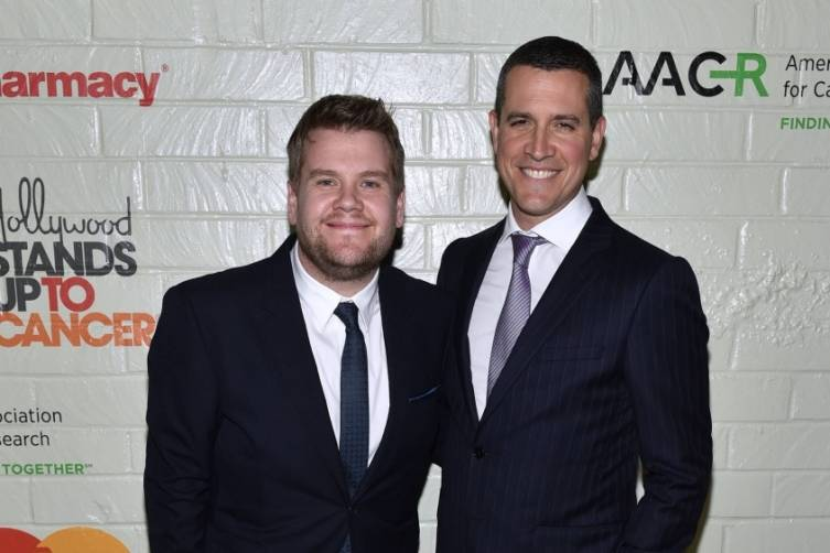 James Corden and Jim Toth