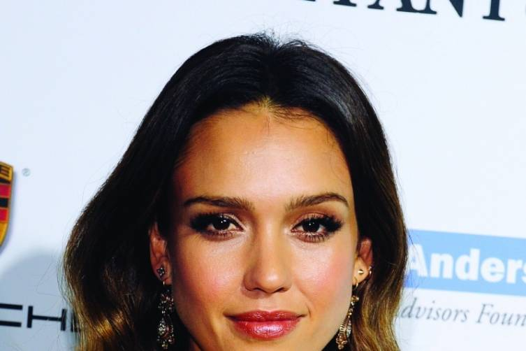 Jessica Alba, courtesy of Getty Images for Baby2Baby
