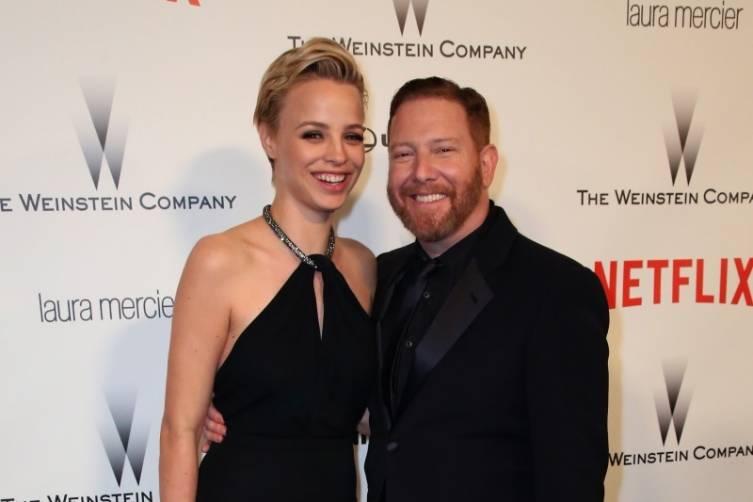 Jessica Roffey + Ryan Kavanaugh at TWC/Netflix post-Golden Globes party