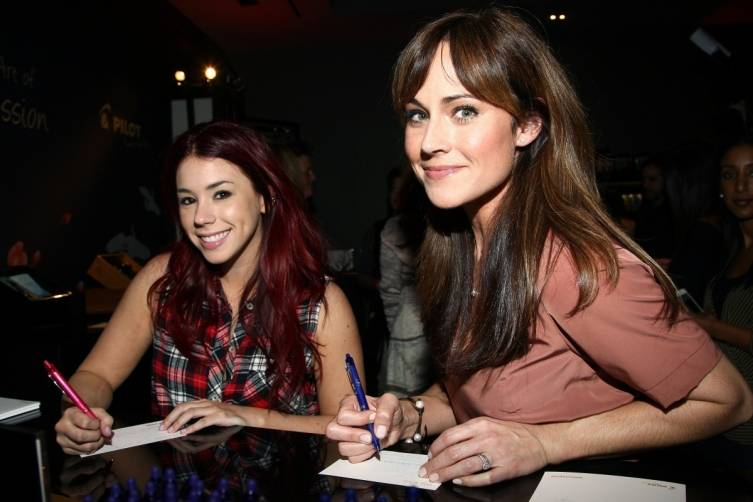 Jillian Rose Reed and Nikki de Loach at GBK