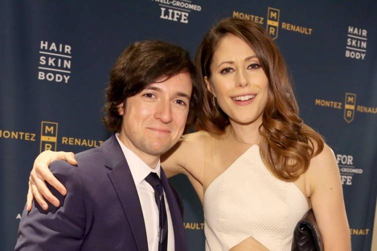 Josh Brener and Amanda Crew at the HBO Luxury Lounge