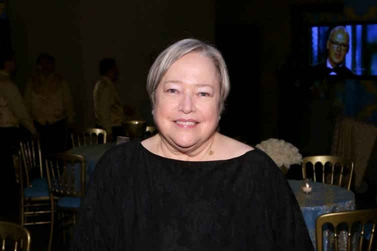 Kathy Bates at HBO's post-Golden Globes party